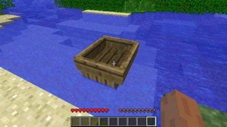 Paano gamitin ang isang bangka sa Minecraft.