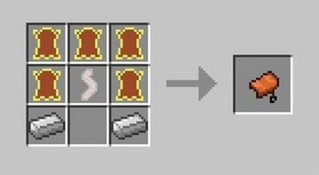 как сделать седло в майнкрафте 1.10.2 #4