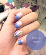 artsy wednesday ombr nails