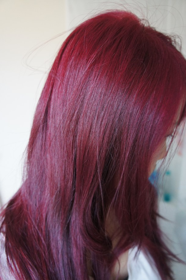 red home diy hair colouring