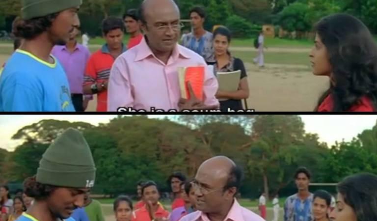 Santhosh Subramaniam Meme Template