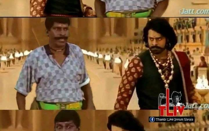 Vadivelu in Bahubali Sync