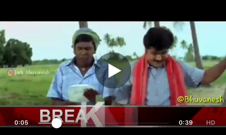 When Vadivelu Reads Breaking News ??