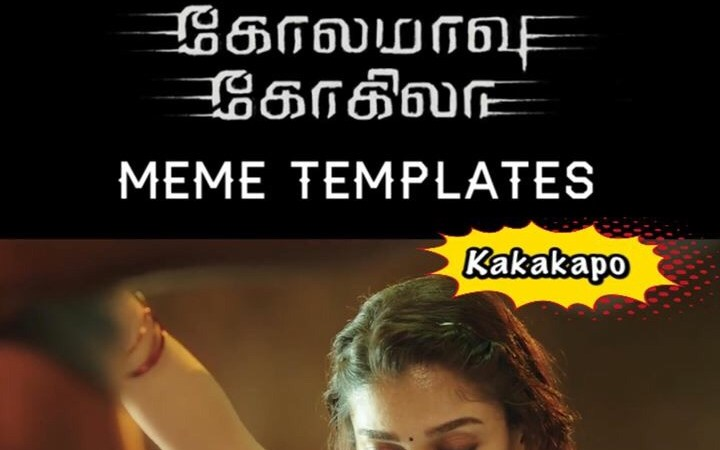 Kolamavu Kokila Meme Template