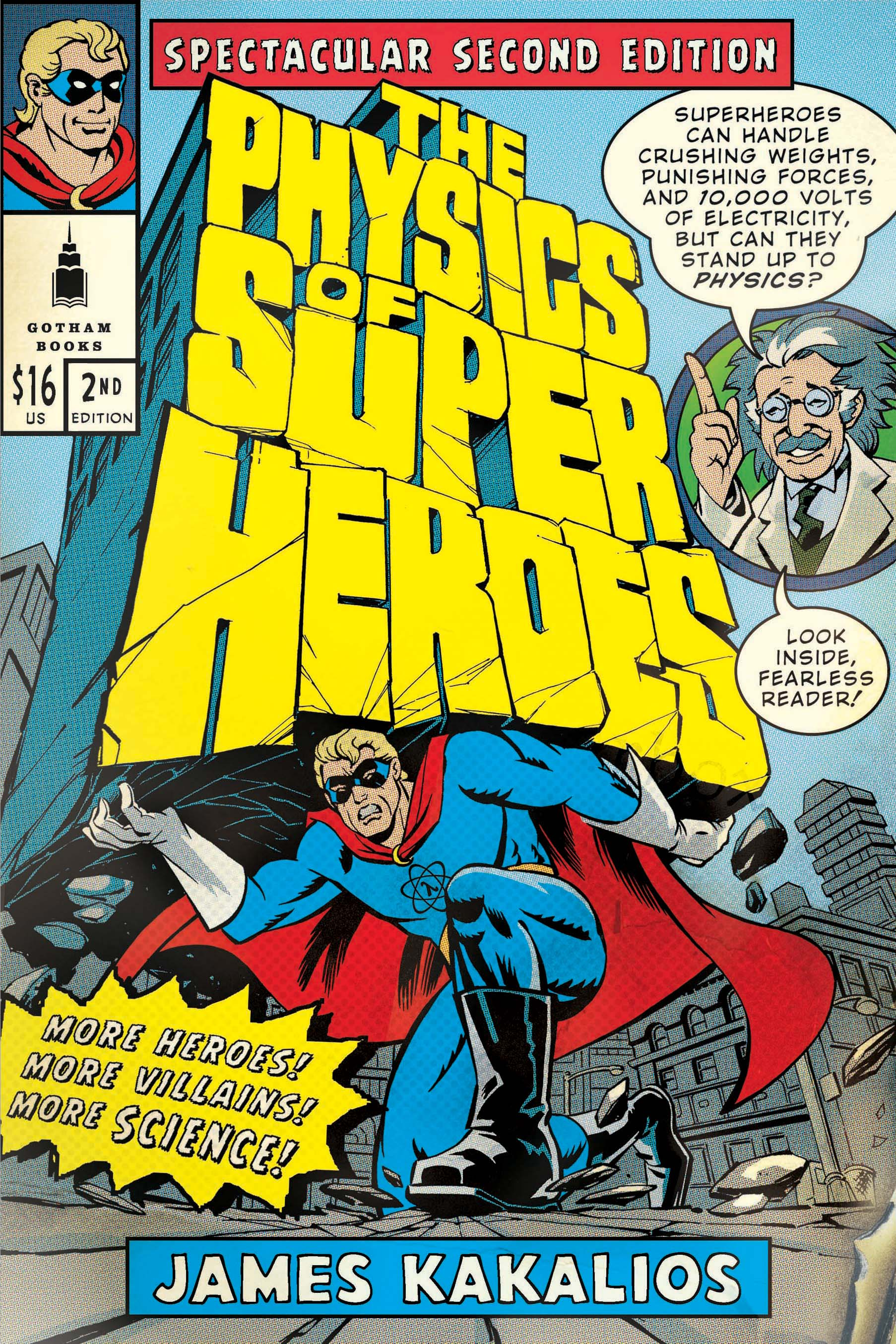 Image result for the physics of superheroes