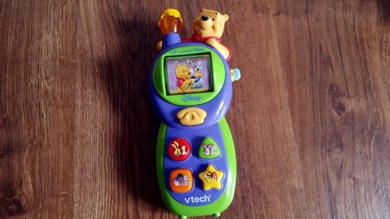 TELEFON KUBUŚ PUCHATEK VTECH 1
