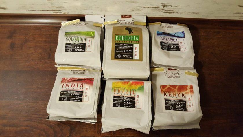MK Cafe Fresh świeżo palone kawy ziarniste 1