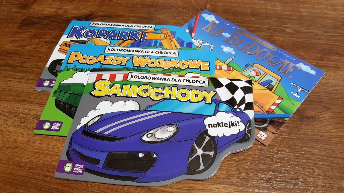 Kolorowanki dla chłopców i dziewczynek, które łamią schematy