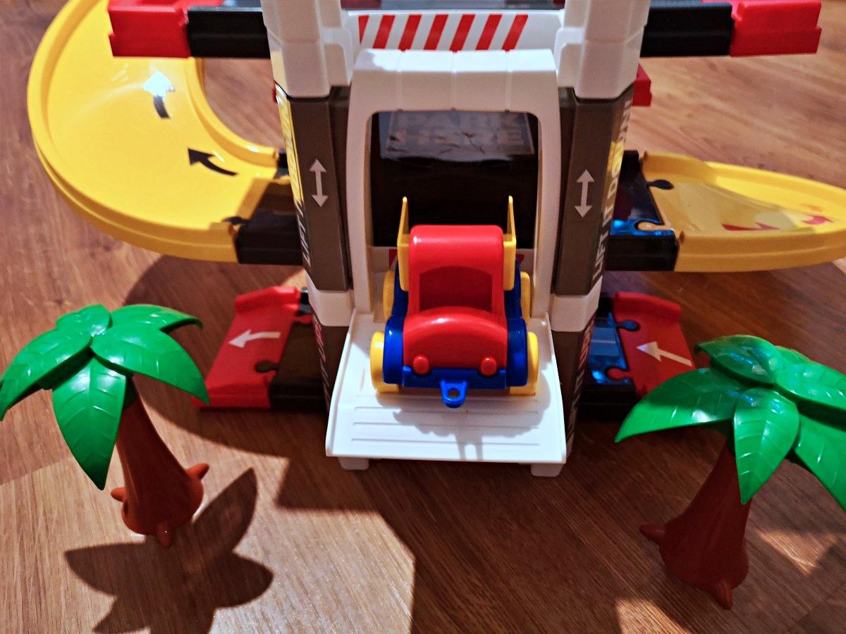 Autka Wader Kid Cars + Garaż z windą 3 poziomy