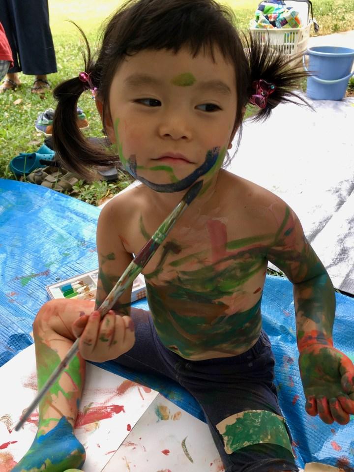7親子のための森のアートセラピー