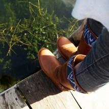 tall boot indigo square