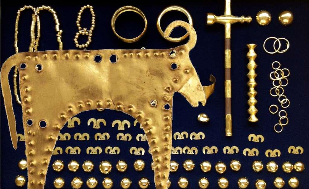 Най-старото златно съкровище в света е намерено край Варна.