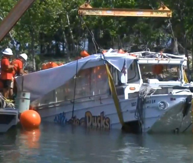 Duck Boat Owner Settles With Family Over Table Rock Lake Accident
