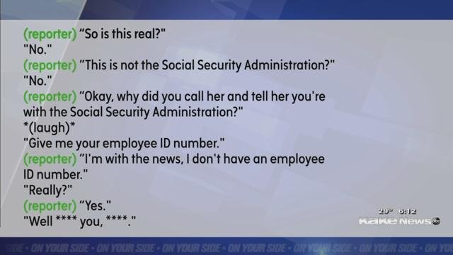 Why Would Social Security Call Me