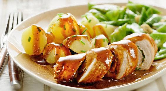 aardappels met jus