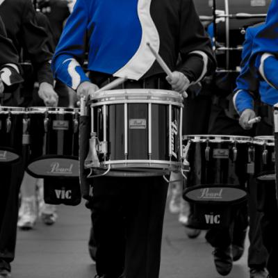 Blue Percussion