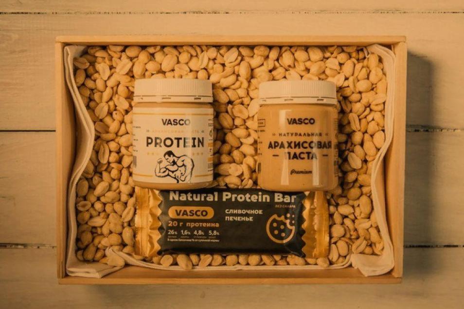 Изготовление арахисовой пасты и протеиновых батончиков