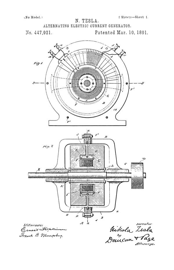 Изобретения Николы Теслы — История изобретений