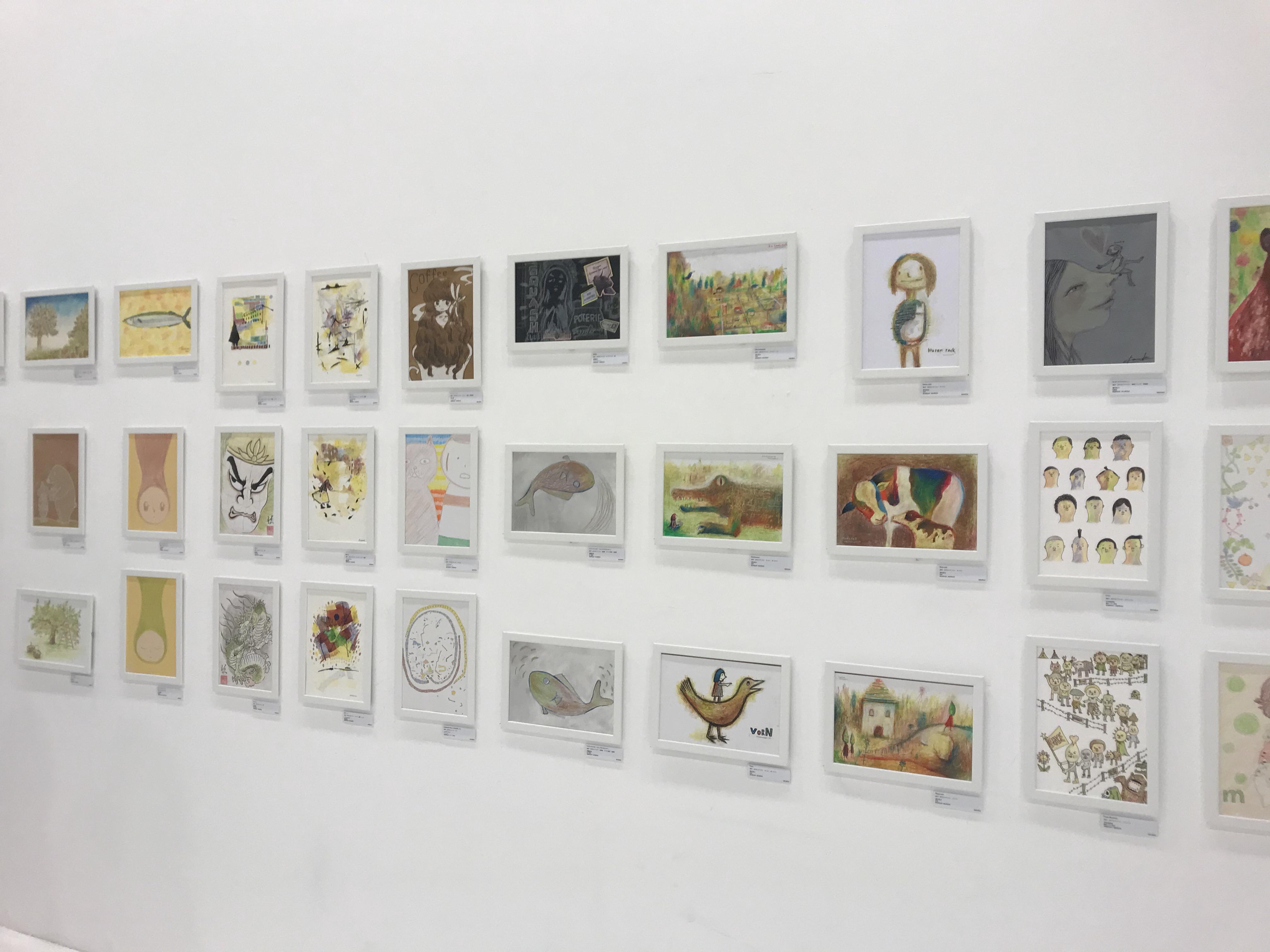 100人のおやさいクレヨン画展 青森県立美術館