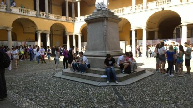 study in pavia