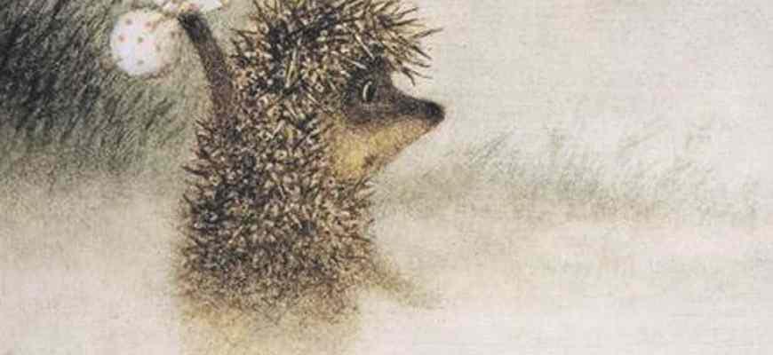 Смысл мультфильма Ежик в тумане