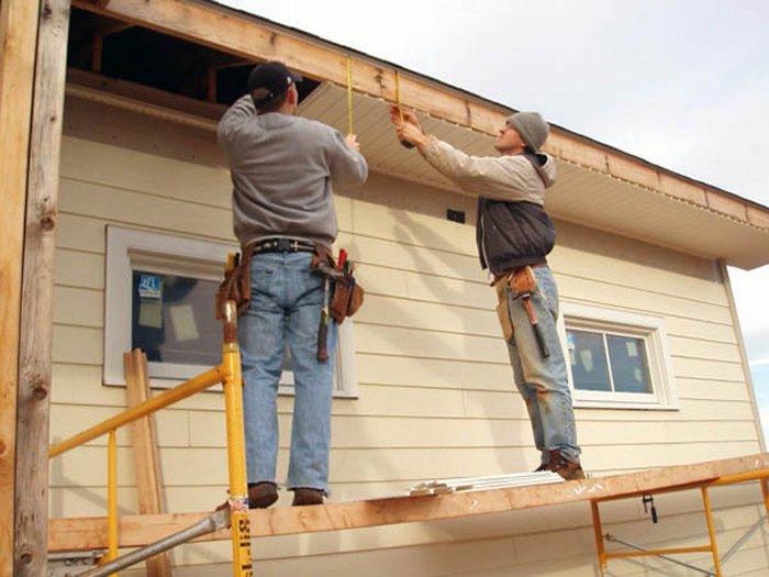 نحوه پناهگاه سایدینگ خانه چوبی