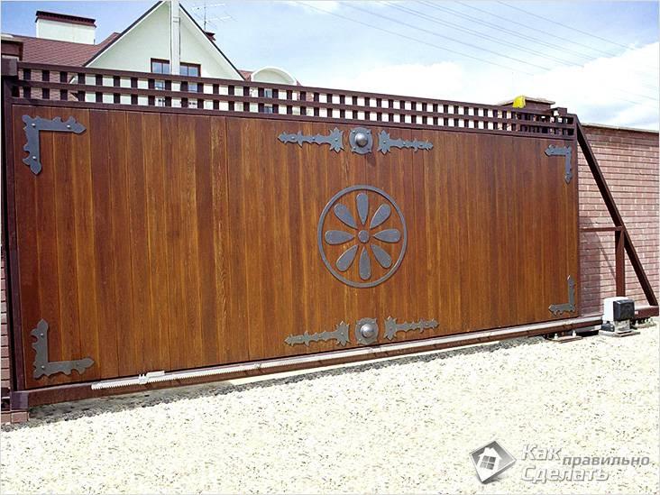 Krásná brána dekor