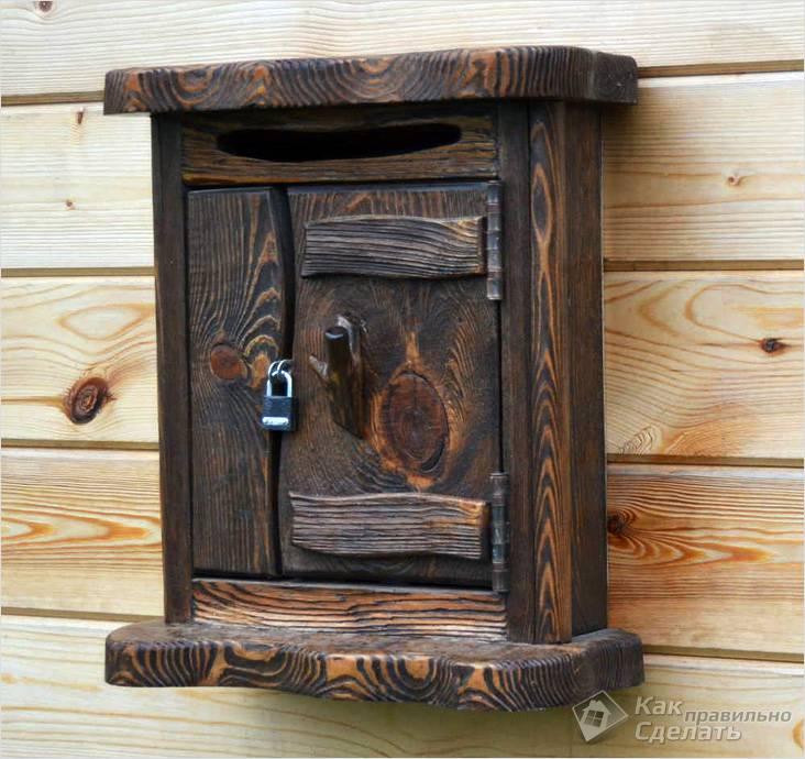 صندوق البريد مغطى بالموريلكا