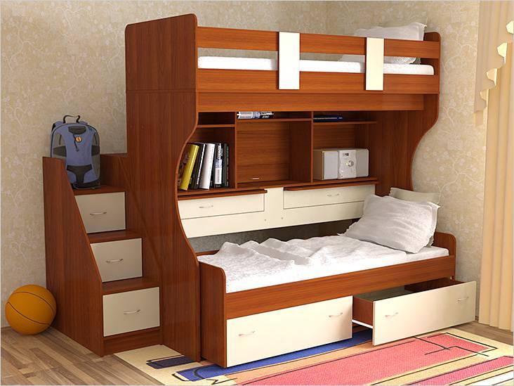 Παιδικό κρεβάτι μετασχηματιστή