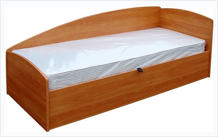 Односпальная кровать из ДСП