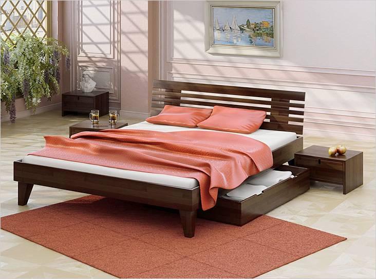 Σπιτικό κρεβάτι στο εσωτερικό