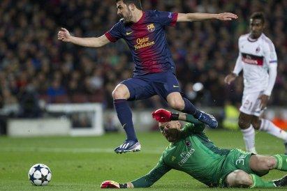 Barcelona vs Ac Milan 2nd leg UEFA Champions League 12