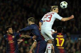 Barcelona vs Ac Milan 2nd leg UEFA Champions League 18