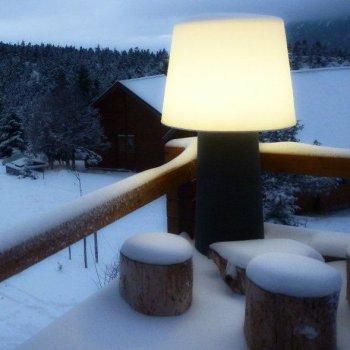 φωτιστικά κήπου οροφής δαπέδου