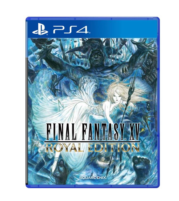 PS4_FF15 ROYAL EDITION_Packshot_Front_EN