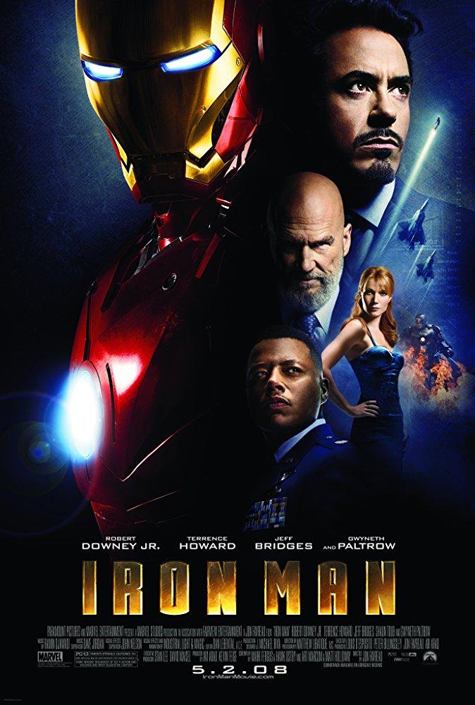 Iron Man 2008 Poster