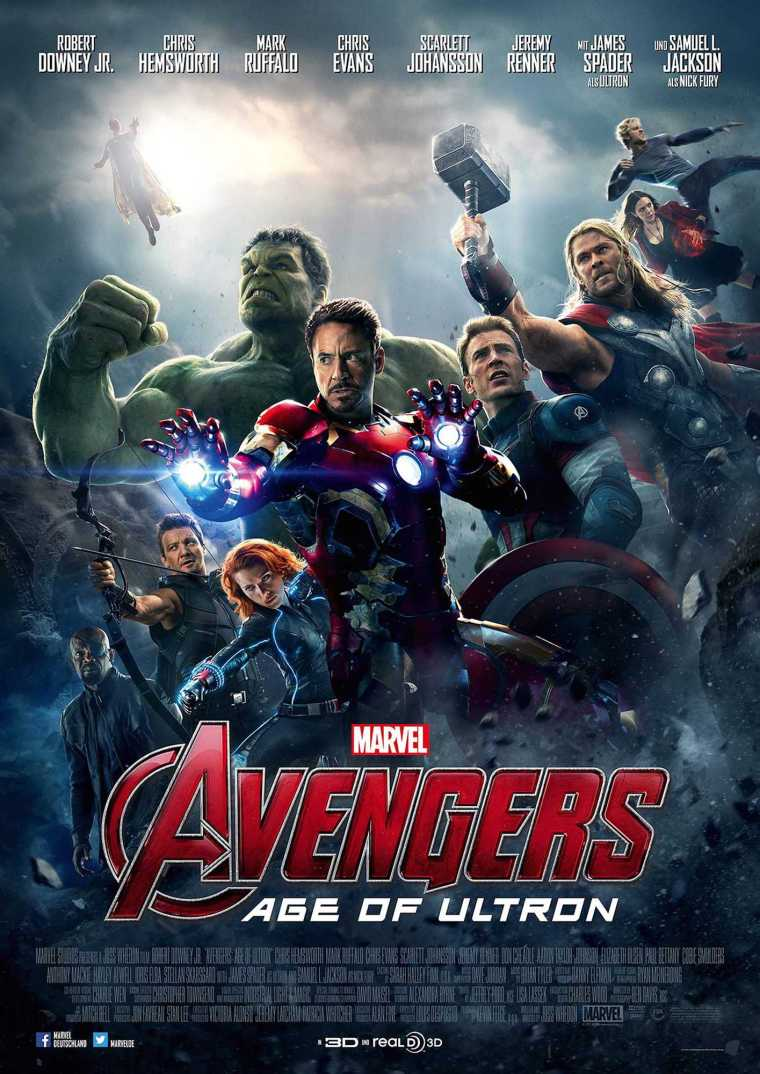 Movie review: 'Avengers: Age of Ultron' is an action-packed, star-studded superhero sequel