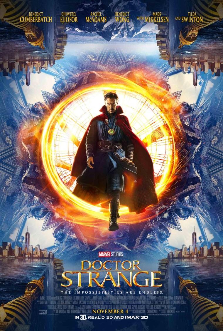 Doctor Strange 2016 Poster