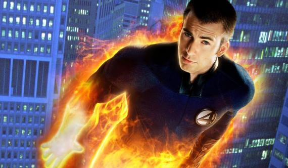 Fantastic-four-chris-evans-as-the-human-torch