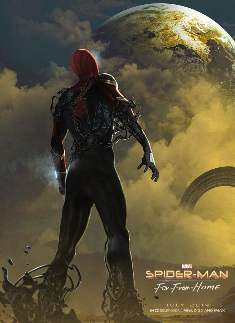 Spider-Man Far From Home Fan-Made Poster