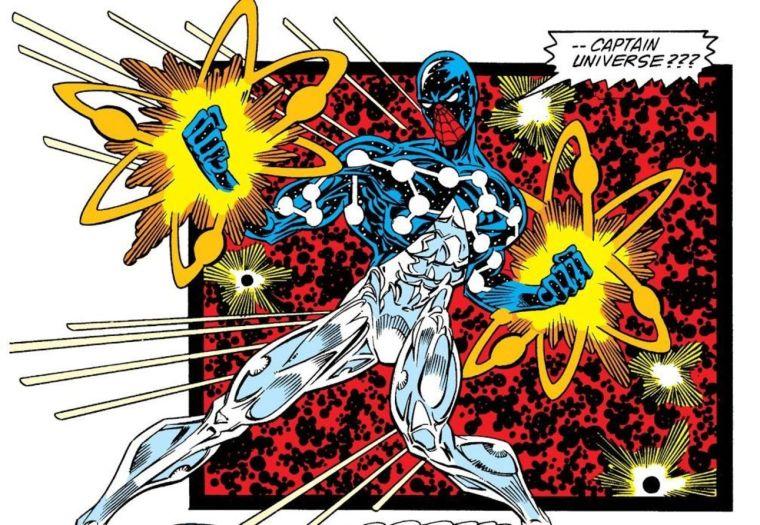 Cosmic Spider-Man Captain Universe