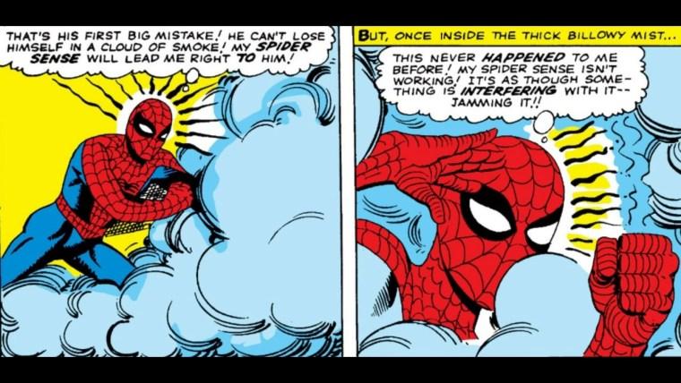 Mysterio Disrupts Spider-Sense