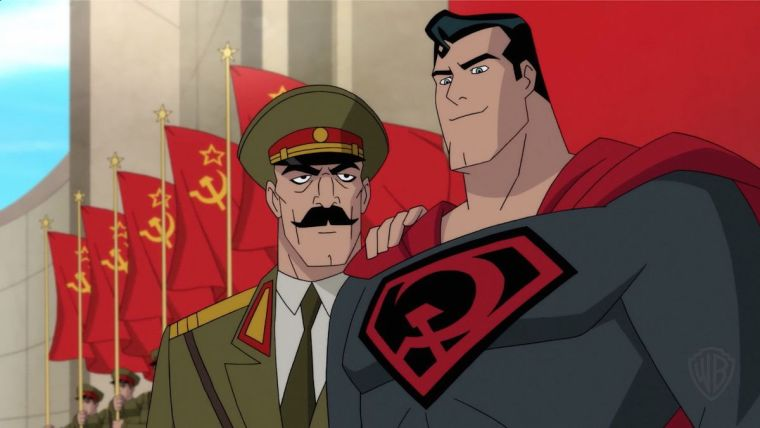Superman Red Son Sets A New Bar For Complex Comic Book Animated Movies Kakuchopurei Com