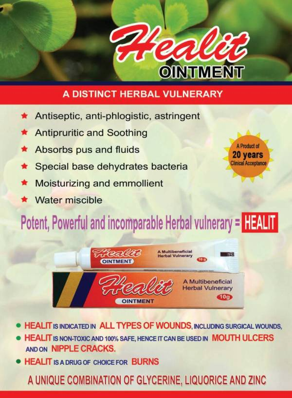 HEALIT FOR WOUNDS N BURNS
