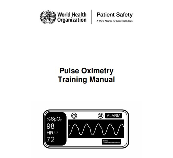 WHO Pulse Oximetry Training Manual