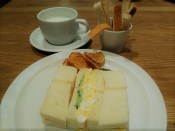セントルザベーカリーの卵サンド