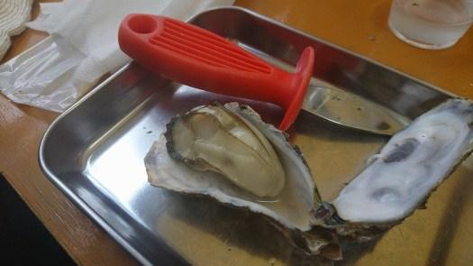 当たりの牡蠣