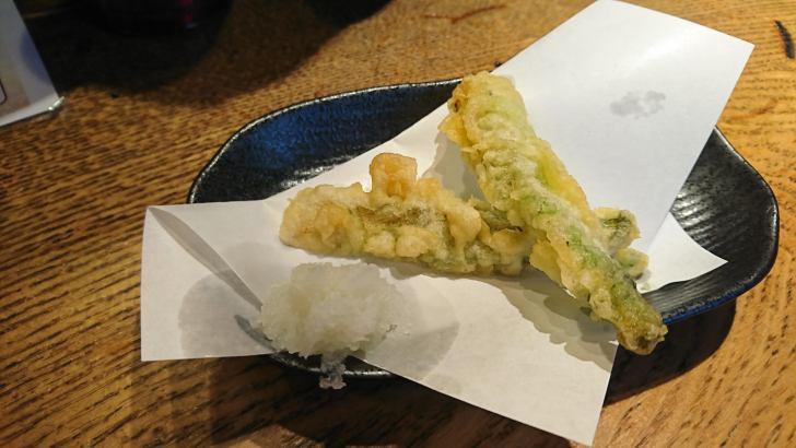 タラの芽 天ぷら
