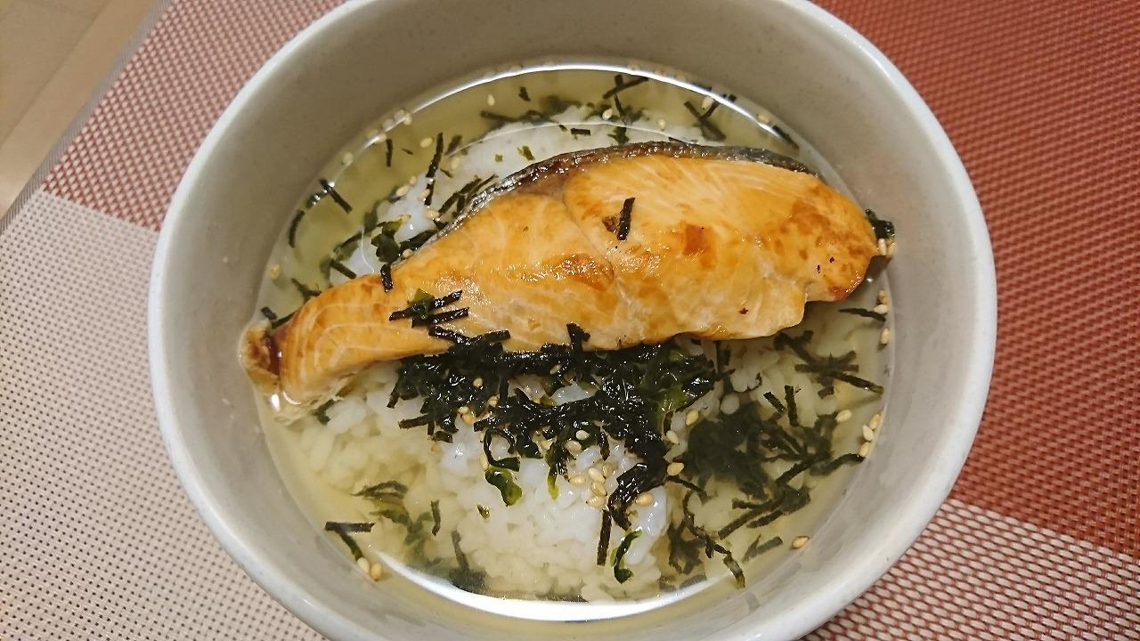 【簡単晩飯】お茶漬け ( Ochazuke )