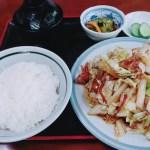 豚肉野菜炒め定食